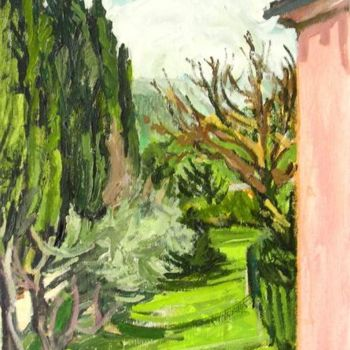"""Painting titled """"Il Podere"""" by Barrie Walker, Original Art,"""