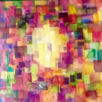 Textile Art, abstract, artwork by Béatrice Marty
