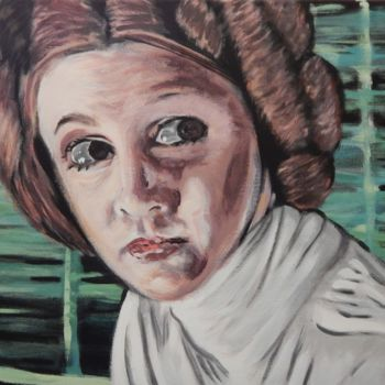 """Painting titled """"The Princess"""" by Becky Arner, Original Art, Acrylic"""
