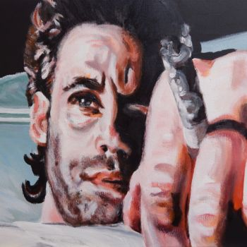 """Painting titled """"Comfortably Numb"""" by Becky Arner, Original Art, Acrylic"""