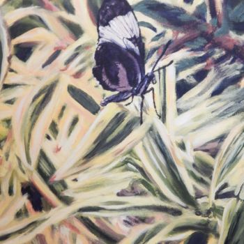 """Painting titled """"Butterfly 2"""" by Becky Arner, Original Art, Acrylic"""