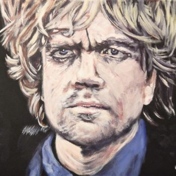 """Painting titled """"Tyrion Lannister"""" by Becky Arner, Original Art, Acrylic"""
