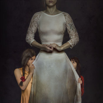 """Photography titled """"Mother"""" by Bettina Dupont, Original Art, Manipulated Photography"""