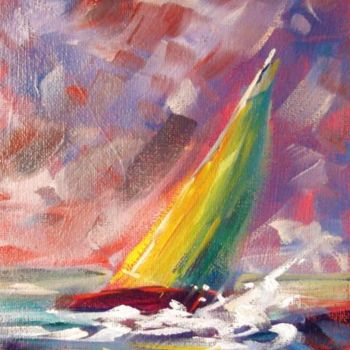 Painting, oil, abstract, artwork by Bill O'Brien