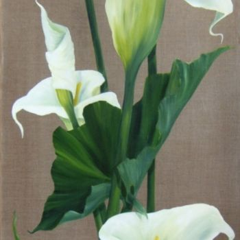 """Painting titled """"aromes"""" by Patricia Blanchet, Original Art,"""