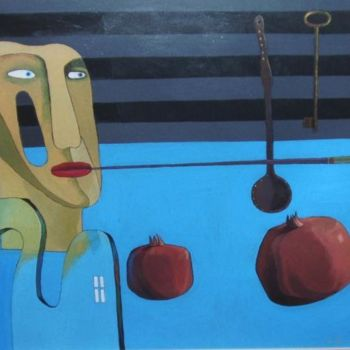 """Painting titled """"S_Bunkov_acrylic_on…"""" by Sergey Bunkov, Original Art, Oil"""