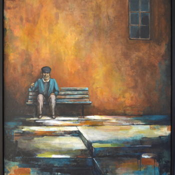 Painting, acrylic, figurative, artwork by Camille Guérin