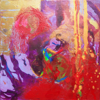 Painting, acrylic, abstract, artwork by Catherine Maddens