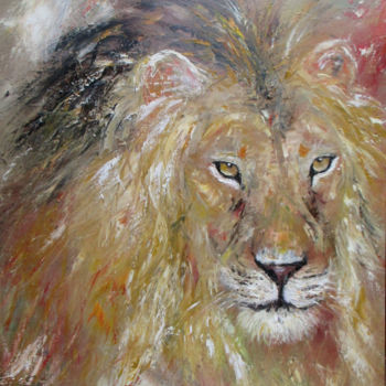 """Painting titled """"Rêve de transparence"""" by Christine Chaussade, Original Art, Oil"""