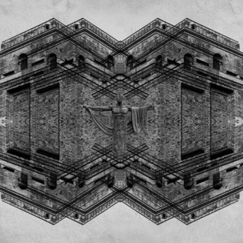 """Photography titled """"Sequestered Eminence"""" by Christopher Hanz, Original Art, Manipulated Photography"""