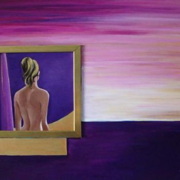 """Painting titled """"INFINITO DENTRO"""" by M.D-Agostino, Original Art,"""