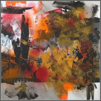 Painting, acrylic, abstract, artwork by Viorel Florin Costea (DadaVFC)