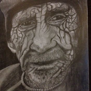 """Drawing titled """"""""A LIFE IS PASSED B…"""" by Danygil, Original Art, Pencil"""