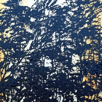 """Painting titled """"Eclipse In The Fore…"""" by Daniel Urbaník, Original Art, Acrylic"""