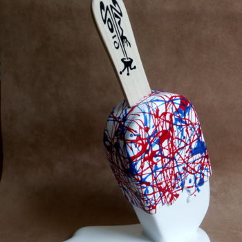 Sculpture, mixed media, abstract, artwork by 2mé / Blondeau