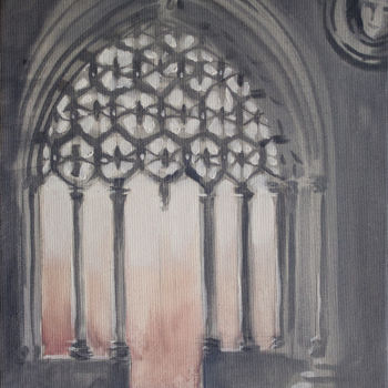 """Painting titled """"Arch"""" by Dita Luse, Original Art, Oil"""