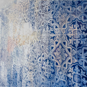 """Painting titled """"Detail"""" by Dita Luse, Original Art,"""