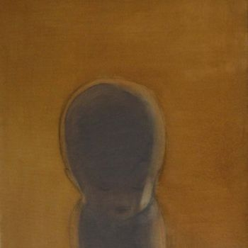 """Painting titled """"Solitude"""" by Dita Luse, Original Art,"""
