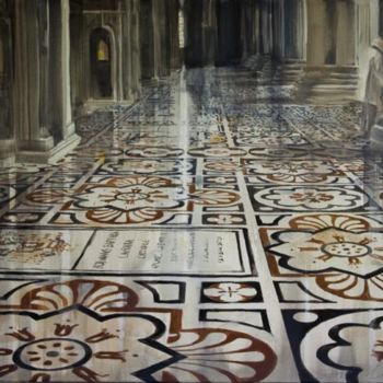 """Painting titled """"Cathedral"""" by Dita Luse, Original Art,"""