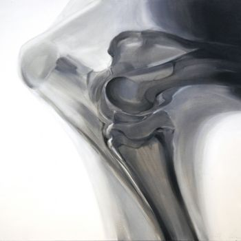 """Painting titled """"Elbow"""" by Dita Luse, Original Art,"""