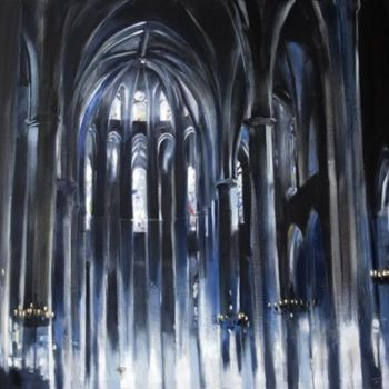 """Painting titled """"Barcelona"""" by Dita Luse, Original Art,"""