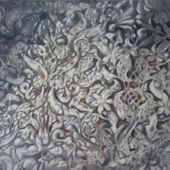 """Painting titled """"Stone lace"""" by Dita Luse, Original Art,"""