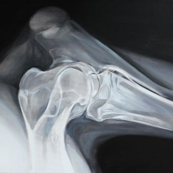 """Painting titled """"Joint"""" by Dita Luse, Original Art,"""