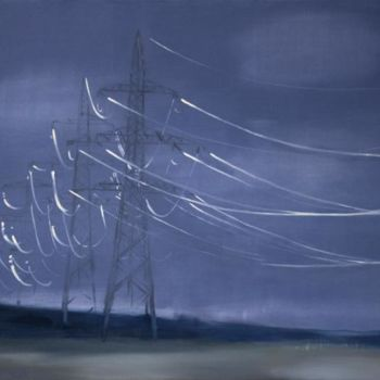"""Painting titled """"Before storm"""" by Dita Luse, Original Art,"""