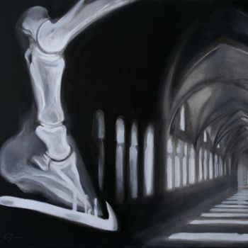 """Painting titled """"Structures of light"""" by Dita Luse, Original Art,"""