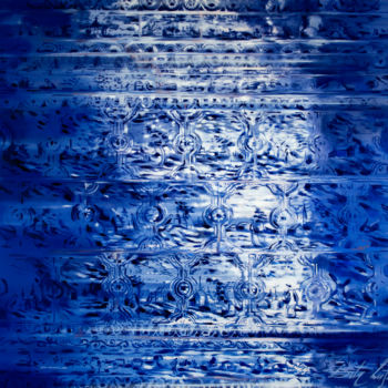 """Painting titled """"Delft Blue"""" by Dita Luse, Original Art, Oil"""