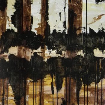 """Painting titled """"Dead Woods"""" by David Vall, Original Art, Acrylic"""