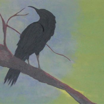 """Painting titled """"Beauty"""" by Raven, Original Art, Acrylic"""
