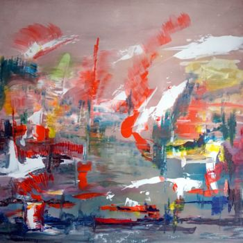 Painting, acrylic, expressionism, artwork by Eliette Gaurin