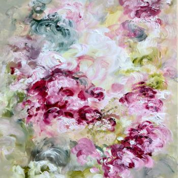 """Painting titled """"the Embracing Scent…"""" by Elisa Cook, Original Art, Oil"""