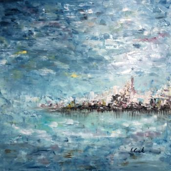 """Painting titled """"It Never Changes"""" by Elisa Cook, Original Art, Oil"""