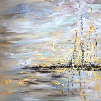 """Painting titled """"Close to Infinity"""" by Elisa Cook, Original Art, Acrylic"""