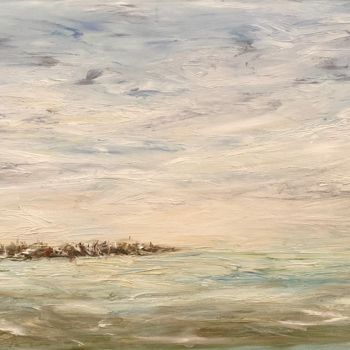 """Painting titled """"Lost in Soft Horizo…"""" by Elisa Cook, Original Art, Oil"""