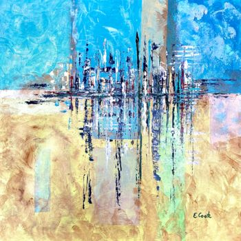 """Painting titled """"A Step Forward"""" by Elisa Cook, Original Art, Acrylic"""