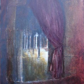 """Painting titled """"Patio andalou"""" by Elisa Cook, Original Art, Other"""