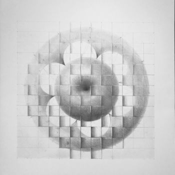 """Drawing titled """"The book of love: D…"""" by Enrique Etievan, Original Art, Graphite"""