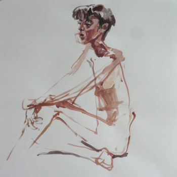 Drawing, figurative, artwork by Eve Clair