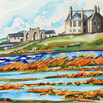 """Painting titled """"Islay Suite - Farmh…"""" by Fraser Maciver (1960 - 2019), Original Art, Watercolor"""