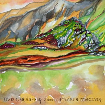 """Painting titled """"Islay Suite - Dun C…"""" by Fraser Maciver (1960 - 2019), Original Art, Watercolor"""