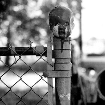 """Photography titled """"doll head 3"""" by Jim Williams, Original Art, Analog photography"""
