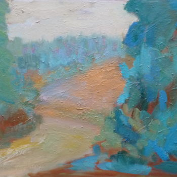 Painting, abstract, artwork by Georgina Rey