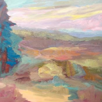 Painting, oil, expressionism, artwork by Georgina Rey