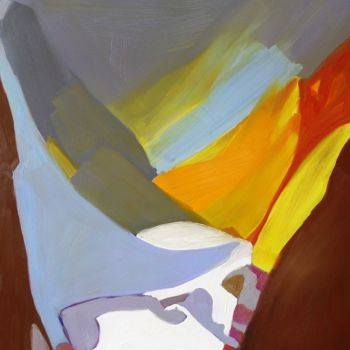 Painting, oil, abstract, artwork by Georgina Rey