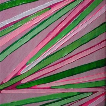 """Painting titled """"Colored lines"""" by Giart, Original Art, Acrylic"""