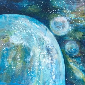 """Painting titled """"«Cosmos»."""" by Gilles Surgès, Original Art, Acrylic"""