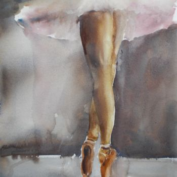 """Painting titled """"legs"""" by Giorgio Gosti, Original Art, Watercolor"""